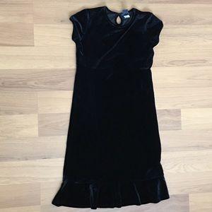 Size M (7-8) Gap Kids (girl's) Velvet like dress